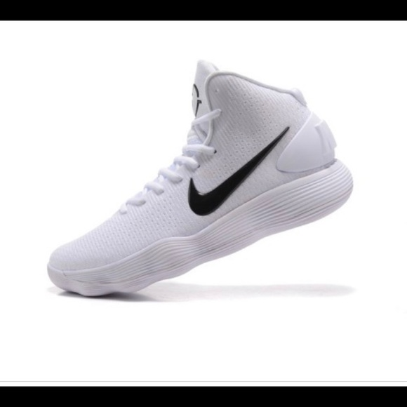 Nike Other - White nike hyper-dunk basketball shoes